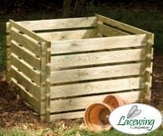 Wooden Composter: Extra Large - 1575L - by Lacewing�