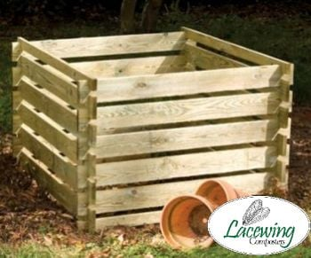 Wooden Composter: Extra Large - 1575L - by Lacewing™