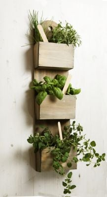 Wood Wall Planters Indoor