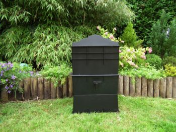 75 Litre Complete Wormery - Black