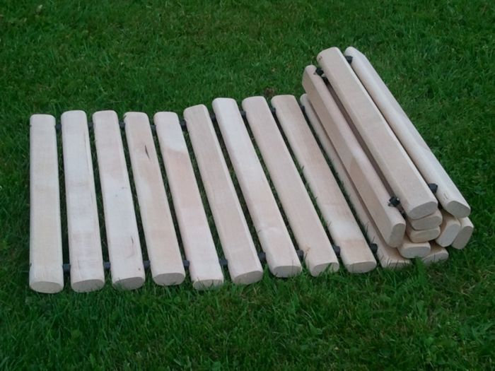 Roll Out Wooden Garden Path 1.3m x 31cm