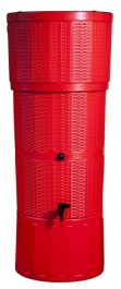 150L Water Butt Rattan - Red