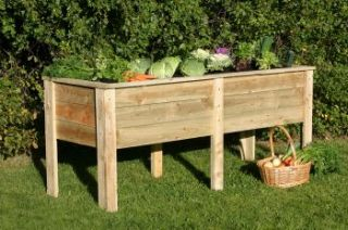 Deep Root Planter by Zest 4 Leisure - 1.8m x 0.7m (H80cm)