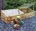 1.7m (5ft 7in) Large Wooden Cold Frame by Zest 4 Leisure®