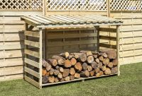 Large Log Store by Zest4Leisure