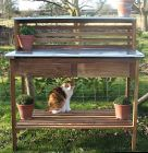 Traditional Oak Potting Bench