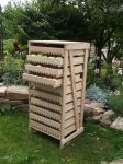 Beech Apple Storage Rack - 10 Drawer H112cm x W58cm x D47cm