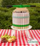 Easy Press™ Double Handled Apple/Fruit/Juice/ Cider Press by Lacewing™ - 12L - 3 Year Guarantee