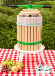 Easy Press™ Double Handled Apple/Fruit/Juice/ Cider Press by Lacewing™ - 18L - 3 Year Guarantee