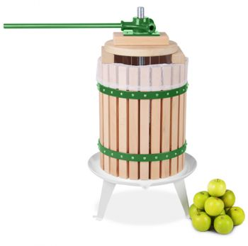 Apple Press for Fruit/Cider/Wine - 18L - 3 Year Guarantee by Lacewing�