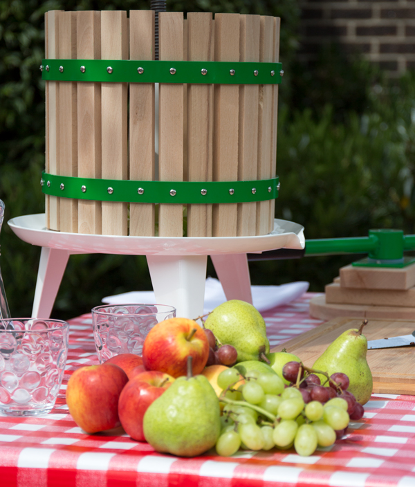 Easy Press™ Double Handled Apple/Fruit/Juice/ Cider Press by Lacewing™ - 6L - 3 Year Guarantee