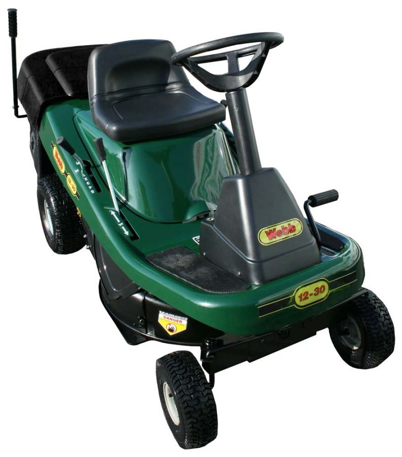 "Webb 30"" Ride-On Mower with Collector"