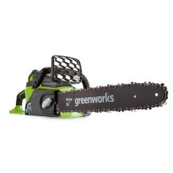Greenworks 40cm (16in) 40V brushless chainsaw (Tool Only)