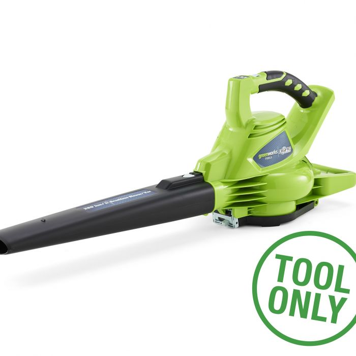 Greenworks 40v Cordless Garden Blower Vacuum (Tool Only)
