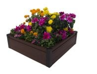 Dual Season Raised Bed Kit 100cm Brown