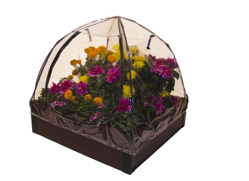 280 Litres - Dual Season Raised Bed Kit Brown - 100cm²  (H28cm)