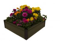 Dual Season Raised Bed Kit 100cm Green