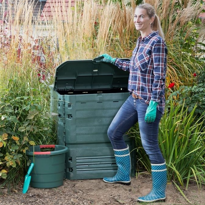 400 Litre Thermo-King Composter in Green