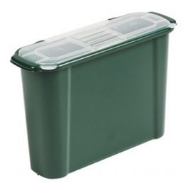 Slimline Waste Caddy in Green (9L)
