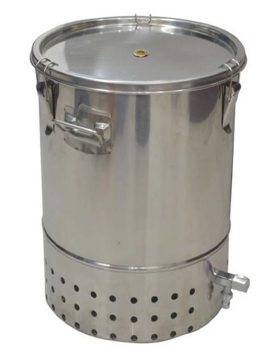 Indoor Wormery Composter in Stainless Steel (30L)