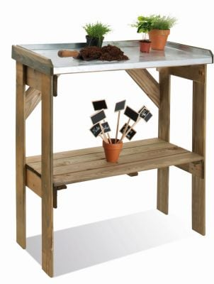 3' Single-shelf Potting Table
