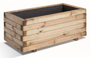 80cm Pine Wood Heavy Duty Planter