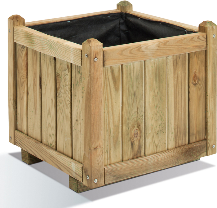 Traditional Planter 52 litres - H 43cm W 45.5cm D 45.5cm