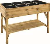 Vegetable Raised Planting Table - H 86.5cm W 1.2m D 60cm