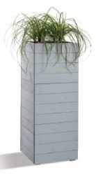 80cm Pine Wood Vertical Trough Planter