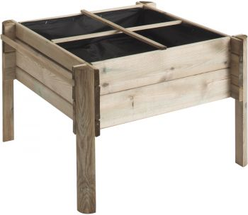 Overlap Children's Planting Table 4 Square - H 50cm W 74cm D 74cm