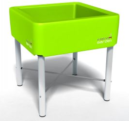 French Garden Classic Plastic Planter (Green) - 70cm² (H75cm)