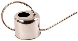 36 cm (1ft 2in) Stainless Steel 1L Watering Can