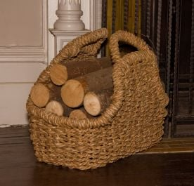 Sea Grass Log Basket - Medium, 23 cm (9in) x 48 cm (1ft 6in)