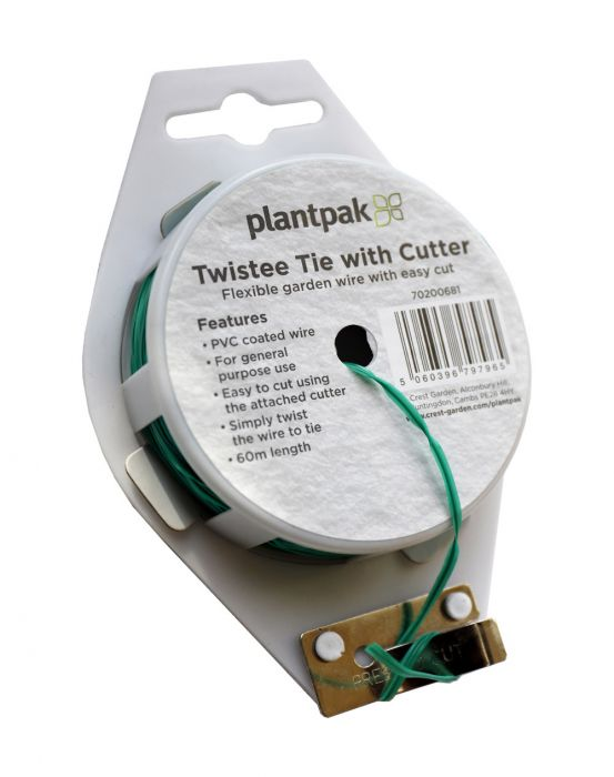 Plantpak 60m Twistee Tie with Cutter