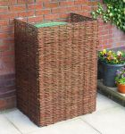 Woven Willow Wheelie Bin Screening