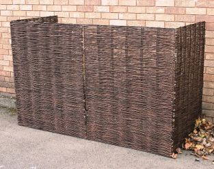 183cm (72in) TripleWoven Willow Wheelie Bin Screening