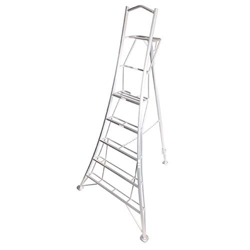 Platform Tripod Ladder with Adjustable Legs - 10ft