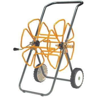 "Tubular Steel Hose Trolley for 100m of ½"" hose"