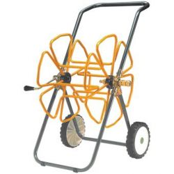 "Tubular Steel Hose Trolley for 70m x 3/4"" hose"