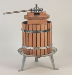 12 Litre Stainless Steel Spindle Apple/Fruit Press