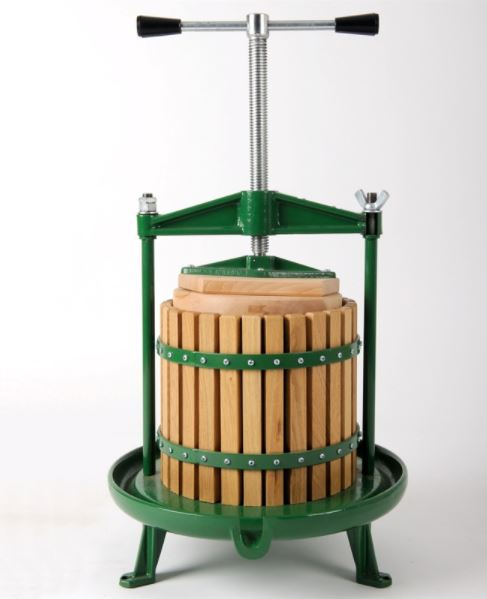 12 Litre Cast Iron Apple/Fruit Press