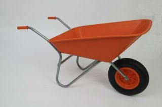 All-Purpose Matador Wheelbarrow in Orange