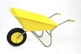 All-Purpose Matador Wheelbarrow inYellow