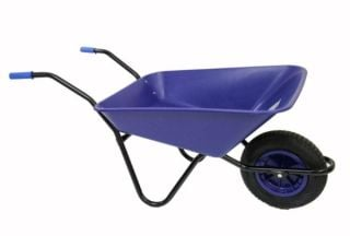 Every Day - Medium Duty Wheelbarrow in Blue