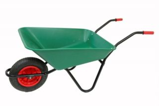 Every Day - Medium Duty Wheelbarrow in Green