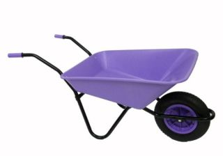 Every Day - Medium Duty Wheelbarrow in Lilac