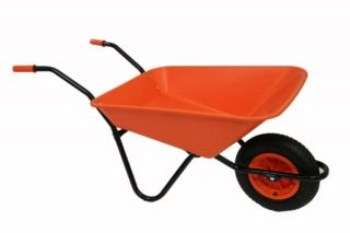 Every Day - Medium Duty Wheelbarrow in Orange