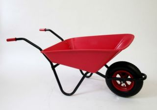 Every Day - Medium Duty Wheelbarrow in Red