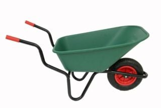 Extra Capacity - Equestrian Range Bronco Wheelbarrow in Green