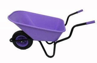 Extra Capacity - Equestrian Range Bronco Wheelbarrow in Lilac